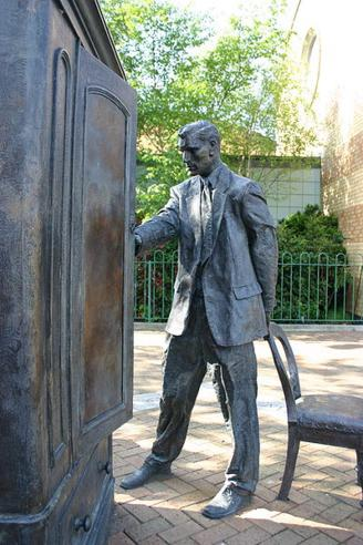 CS Lewis Memorial Sculpture