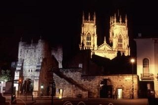 City of York at night