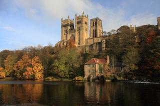 Durham Cathedral above the River Wear