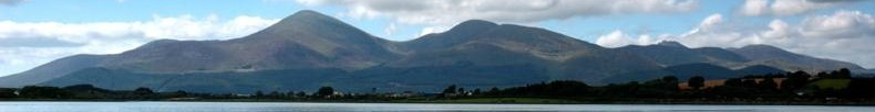 Mourne Mountains banner