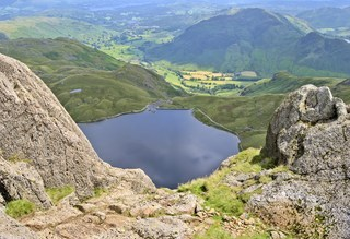 The View Over Stickle Tarn